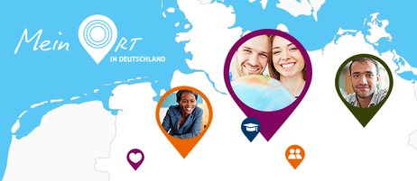 "The competition ""Mein Ort in Deutschland"" (My Place in Germany) drew 1,200 people from 100 countries who told stories about their favourite places in Germany."