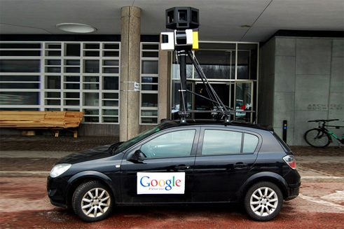 Fake Google Street Car