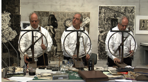 "William Kentridge ""Drawing Lessons"""