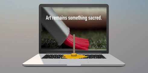 Art remains something sacred