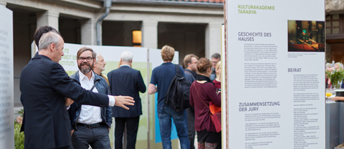 Presentation of the Goethe-Institut's residency work in Berlin's Kulturquartier silent green.