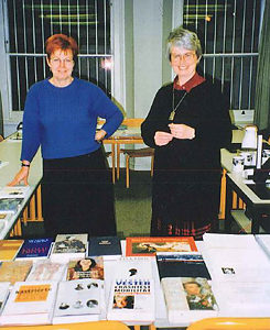 Regine Friederici and Rosemary Smith