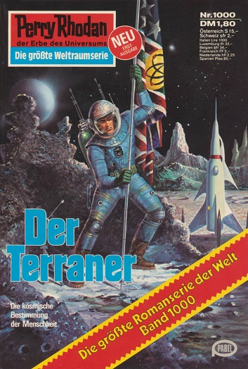 Cover Perry Rhodan Nr. 1000