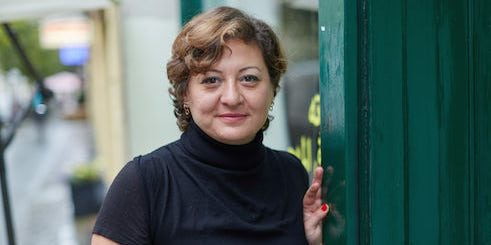 Film director and producer Diana El-Jeiroudi.