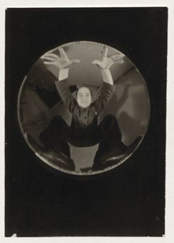 "Untitled (self-portrait with the ""Wolkenkamera"" 