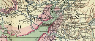 Kamerun 1914. Map of M. Moisel (Extract)