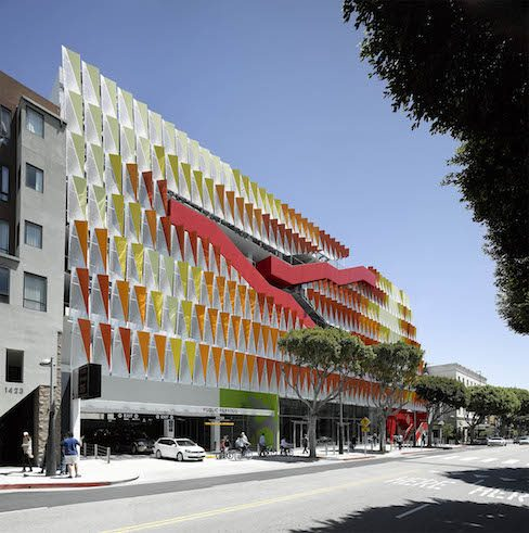 Behnisch Architekten | Parking structure Santa Monica