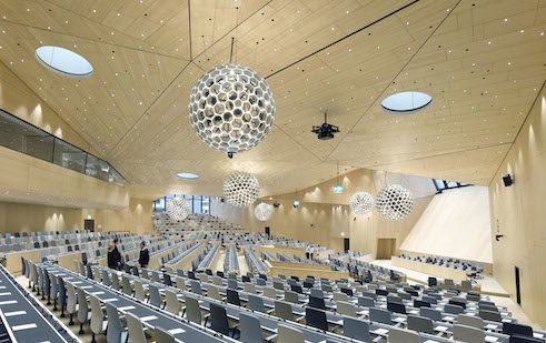 Behnisch Architekten | Wipo Conference Hall | Geneva