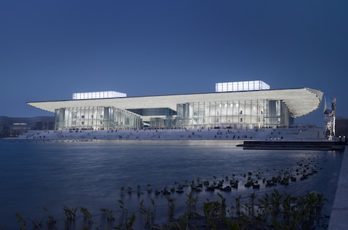 gmp | Grand Theater | Tianjin