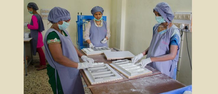 Creating female hygiene products in Pune
