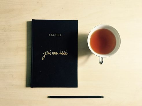 A Minimalist Flat-lay: A Minimalist Lifestyle Blogger's calling card.