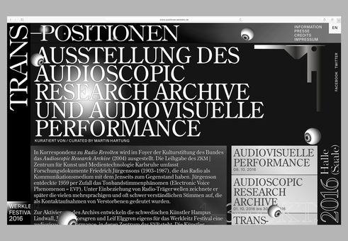 Schön ... Knothu0026Renner | Website For Werkleitz Festival, ...