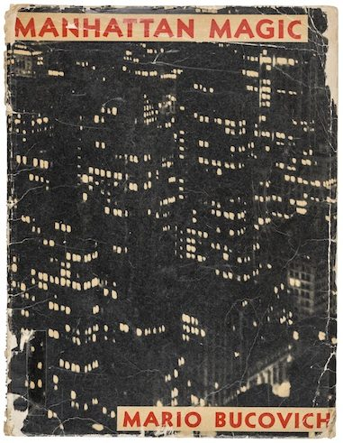 Mario Bucovic | Manhattan Magic | New York | M.B. Publishing Company, 1937