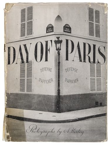 Andre Kertesz | Day of Paris | J. J. Augustin Publisher, 1945