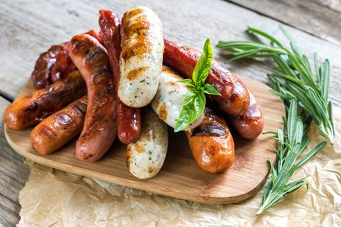 German sausages are popular abroad