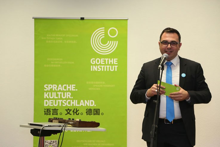 Rafael D. Deschka, Leiter der Spracharbeit des Goethe-Instituts China
