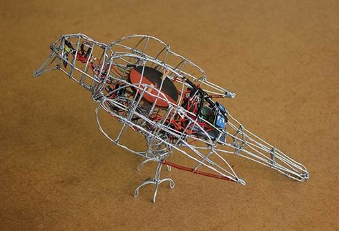 Wire bird, Ralph Borlan