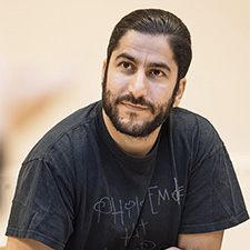 Hamed Eshrat at PICTURE POLITICS workshop, Stockholm