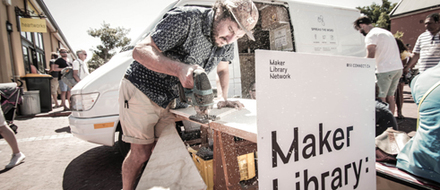 The Mobile Maker Library, Cape Town