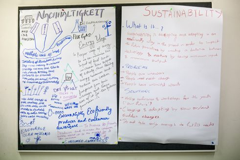 "Future There - poster ""sustainability"""