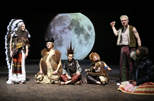 """Peter Pan"" by J.M. Barrie at the Frankfurt Schauspiel"