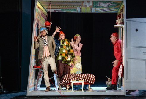 """Rico, Oskar und die Tieferschatten"" (i.e. Rico, Oskar and the Deeper Shadows) by Andreas Steinhöfel at the Young People's National Theater Schnawwl in Mannheim"
