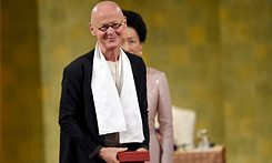 Wolfgang Laib receives the Praemium Imperiale