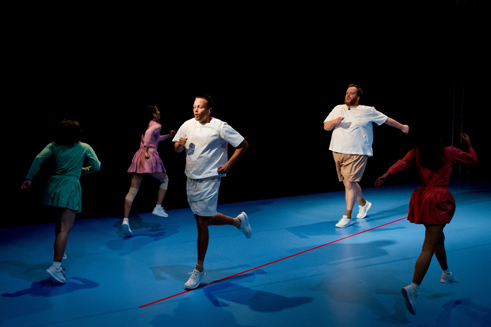 """Happy Hunting Ground"" at the Badisches Staatstheater Karlsruhe"