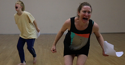 Zoë Knights: Composing emotion rehearsals