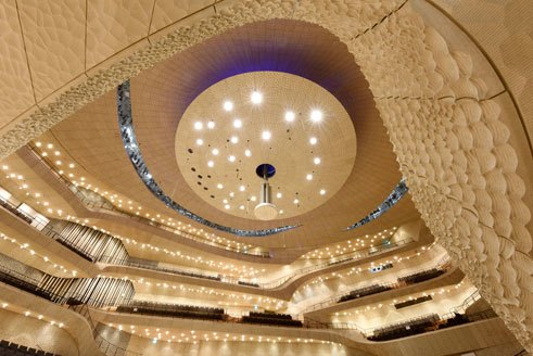 Grand Hall Elbphilharmonie Hamburg