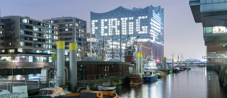 The Elbphilharmonie in Hamburg