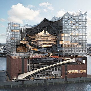 Cross-Section Elbphilharmonie