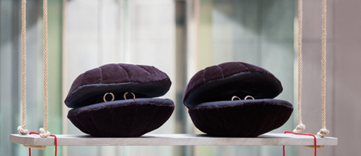 Cosima von Bonin, SCALLOPS (DARK VERSION), ROCKING, 2014