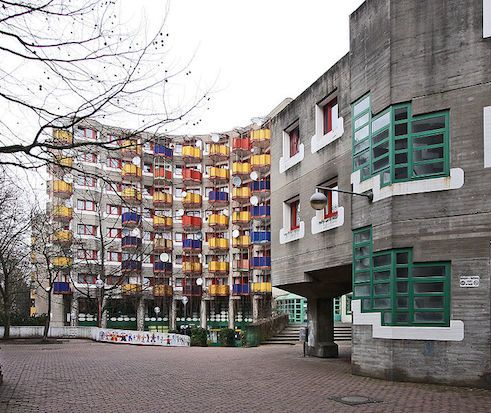 Residential buildings in Chorweiler | Gottfried Böhm