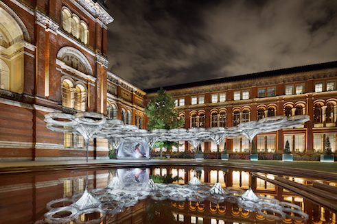 Elytra Filament Pavillon | Victoria and Albert Museum London