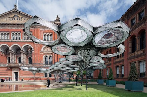 Elytra Filament Pavilion | Victoria and Albert Museum, Londres