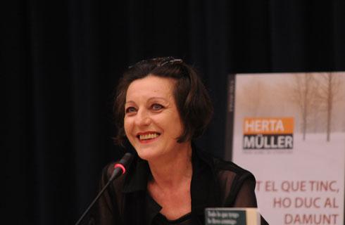 Herta Müller im Goethe-Institut Madrid