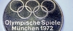 1972 Olympic Games in Munich: Silver Medal