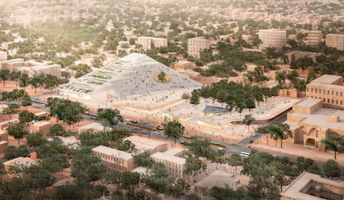 Parliament in Ougadougou | design