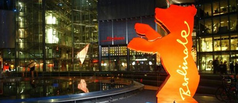 The Berlinale Bear in the Sony-Center at Potsdamer Platz