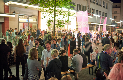 62nd International Short Film Festival Oberhausen, festival atmosphere