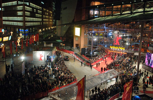 The Berlinale Palast: premiere venue for the Competition films and prestigious location for all gala ceremonies