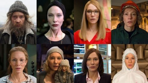 "Julian Rosefeldt, 2015 | Cate Blanchett x 8: In the video installation ""Manifesto"" she recites the postulates of the avant-garde in a wide range of roles."