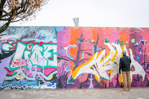 Hall of Fame, Mauerpark – different artists