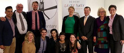 The panel event the Gayby Baby team co-hosted at Federal Parliament with the Parliamentary Friendship Group for LGBTI Australians.