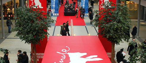 Berlinale Ticketschlange
