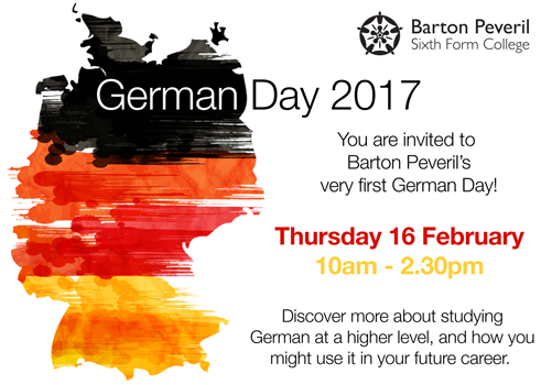 Barton Peveril German Day