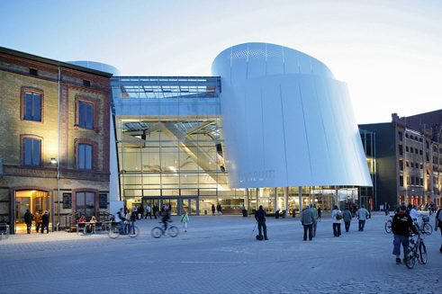 The Ozeaneum in Stralsund | Exterior View