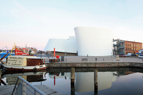 The Ozeaneum in Stralsund | Location on the Port