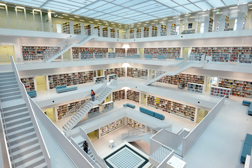 Municipal Library in Stuttgart | Gallery